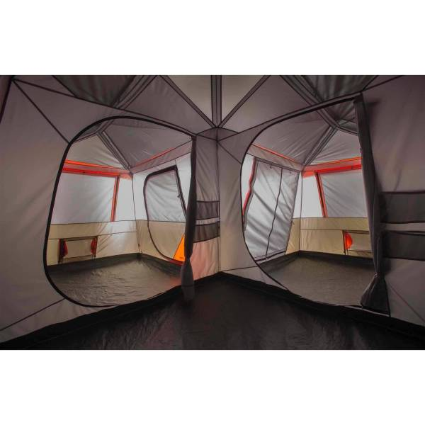 Ozark Trail 12 Person 3 Room Outdoor Family Travel Camping Instant Tent Cabin