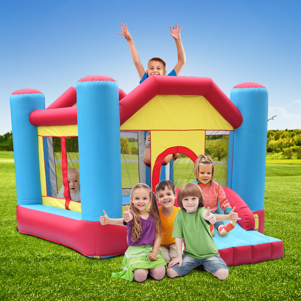 Lowestbest Inflatable Bounce House 12 X 9 X 7 Indoor