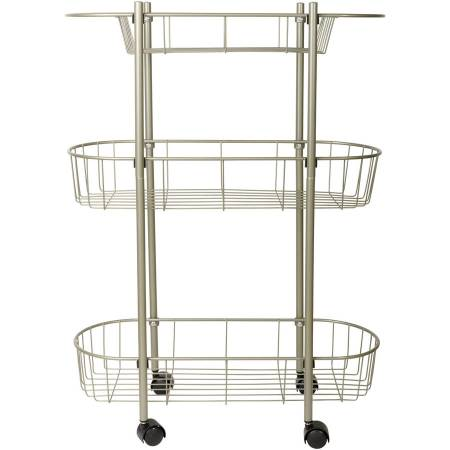 chapter rolling bathroom cart - walmart