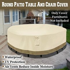 Walmart Deck Chair Covers Club Chairs Strong Camel Round Patio Table Cover Garden Outdoor Furniture Winter Protect Com