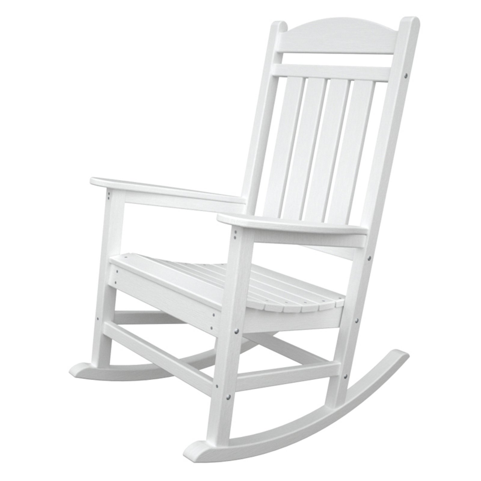 rocking chair white outdoor stressless side table polywood reg presidential recycled plastic walmart com