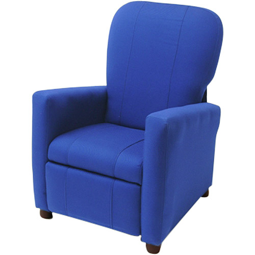 kid recliner chair butterfly covers ikea kids reclining blue walmart com departments