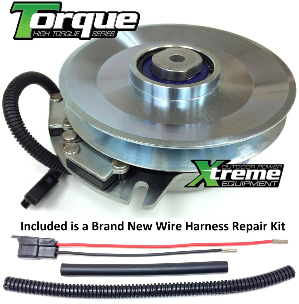 medium resolution of bundle 2 items pto electric blade clutch wire harness repair kit replaces warner 5218 140 toro pto electric clutch w wire harness repair kit