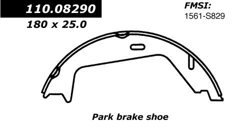 OE Replacement for 2003-2014 Volvo XC90 Rear Parking Brake