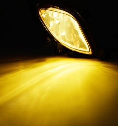 for 2010 2012 hyundai genesis coupe yellow bumper fog light lamp w wiring switch walmart com [ 1100 x 1100 Pixel ]