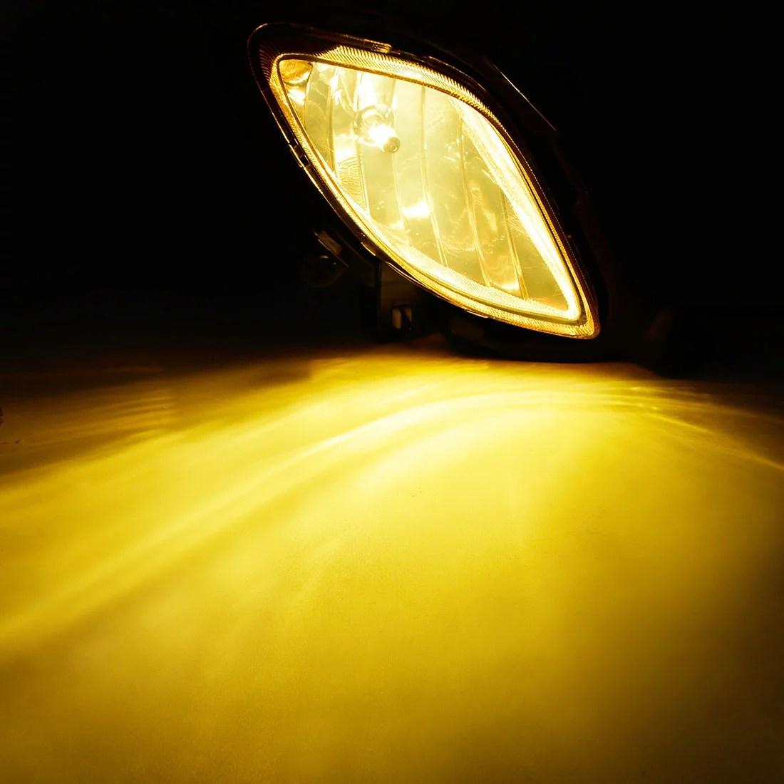 hight resolution of for 2010 2012 hyundai genesis coupe yellow bumper fog light lamp w wiring switch walmart com