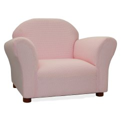 Pink Kids Chair Club Chairs Cheap Keet Roundy Gingham Walmart Com