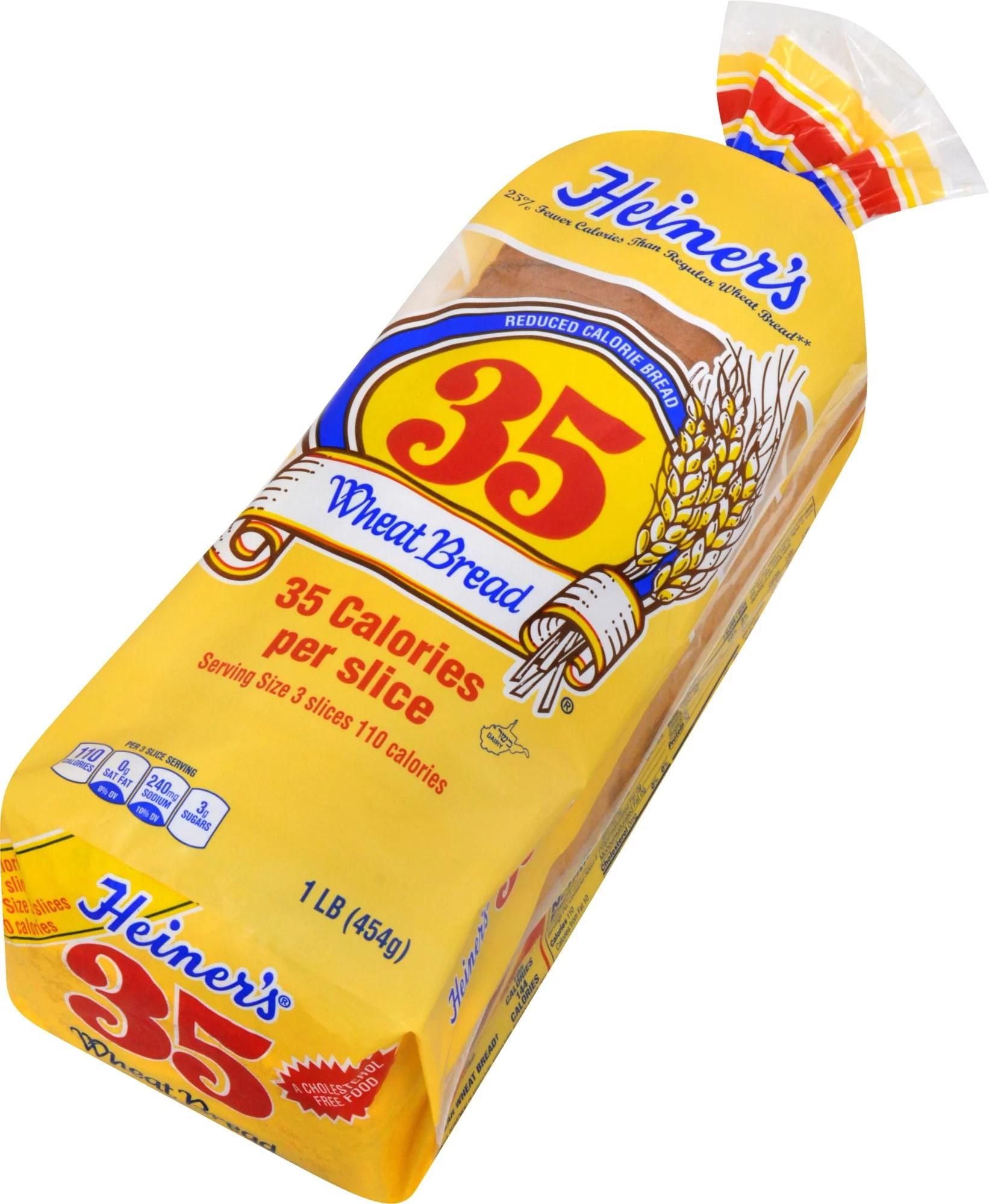 Heiner?s 35 Reduced Calorie Wheat Bread 16 oz - Walmart.com