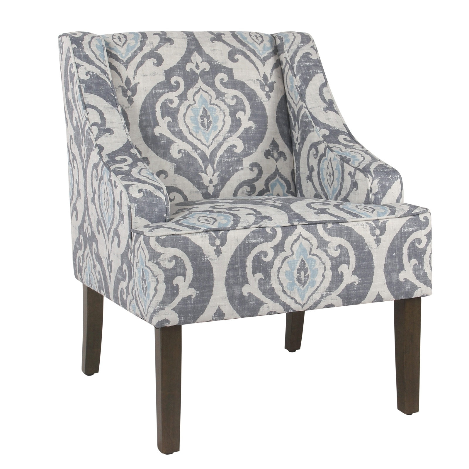 homepop modern swoop arm accent chair
