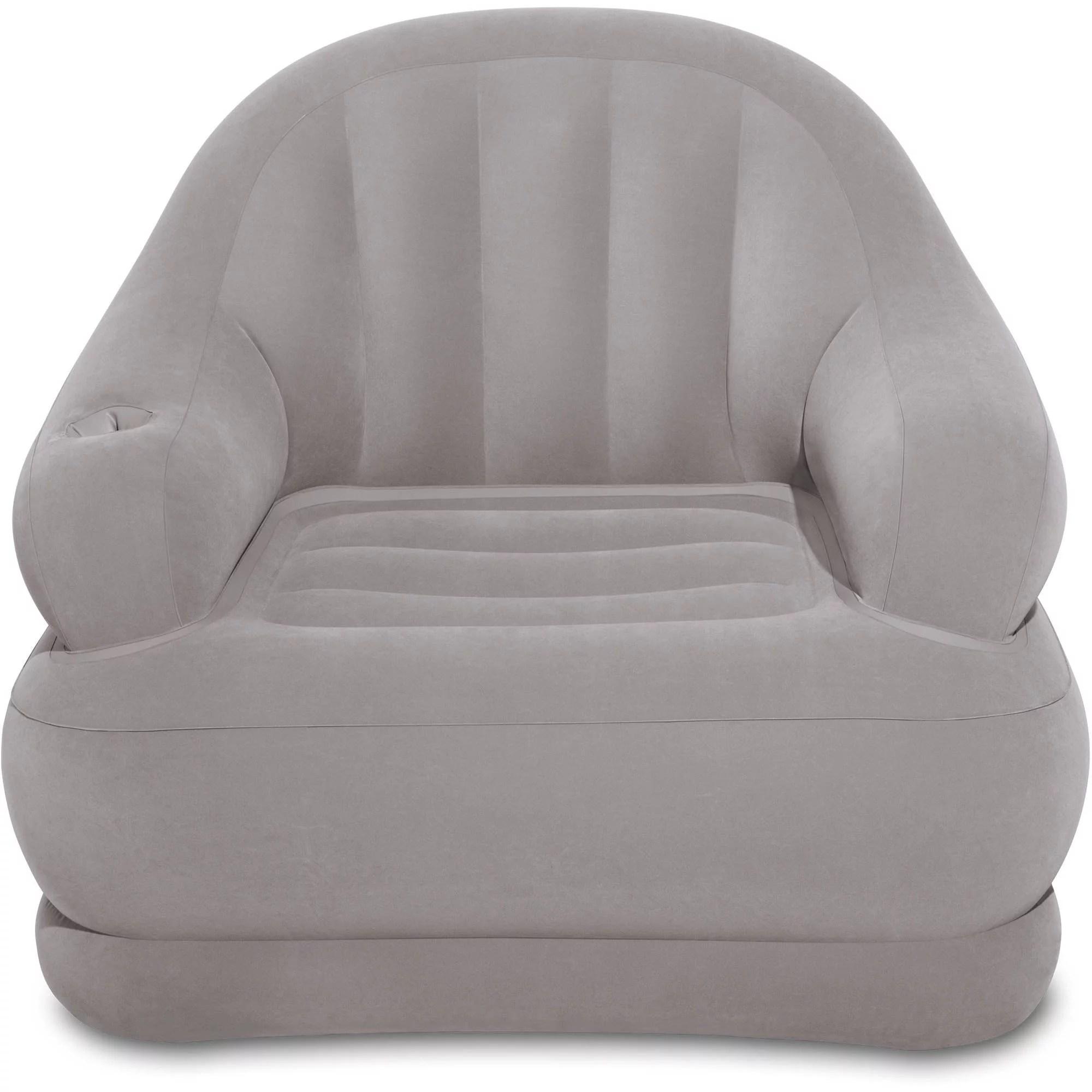 intex inflatable chairs folding deck b q camping chair 48 x 44 39 walmart com