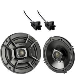 2x polk audio 6 5 300w 2 way car marine atv stereo coaxial speakers 2x metra 72 4568 speaker wire harness for select gm vehicles walmart com [ 1600 x 1600 Pixel ]