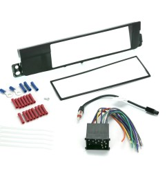 install centric icbw3bn bmw 3 series 2002 05 complete car stereo installation kit walmart com [ 2000 x 2000 Pixel ]