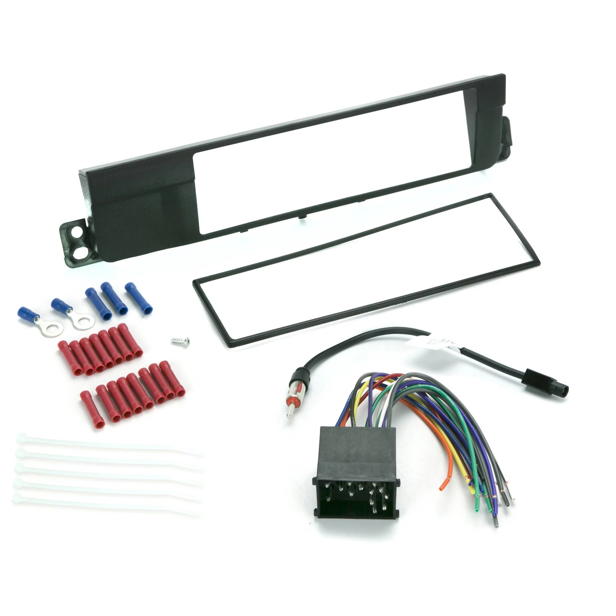 hight resolution of install centric icbw3bn bmw 3 series 2002 05 complete car stereo installation kit walmart com