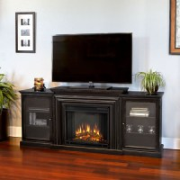 Real Flame Frederick Entertainment Center with Electric ...