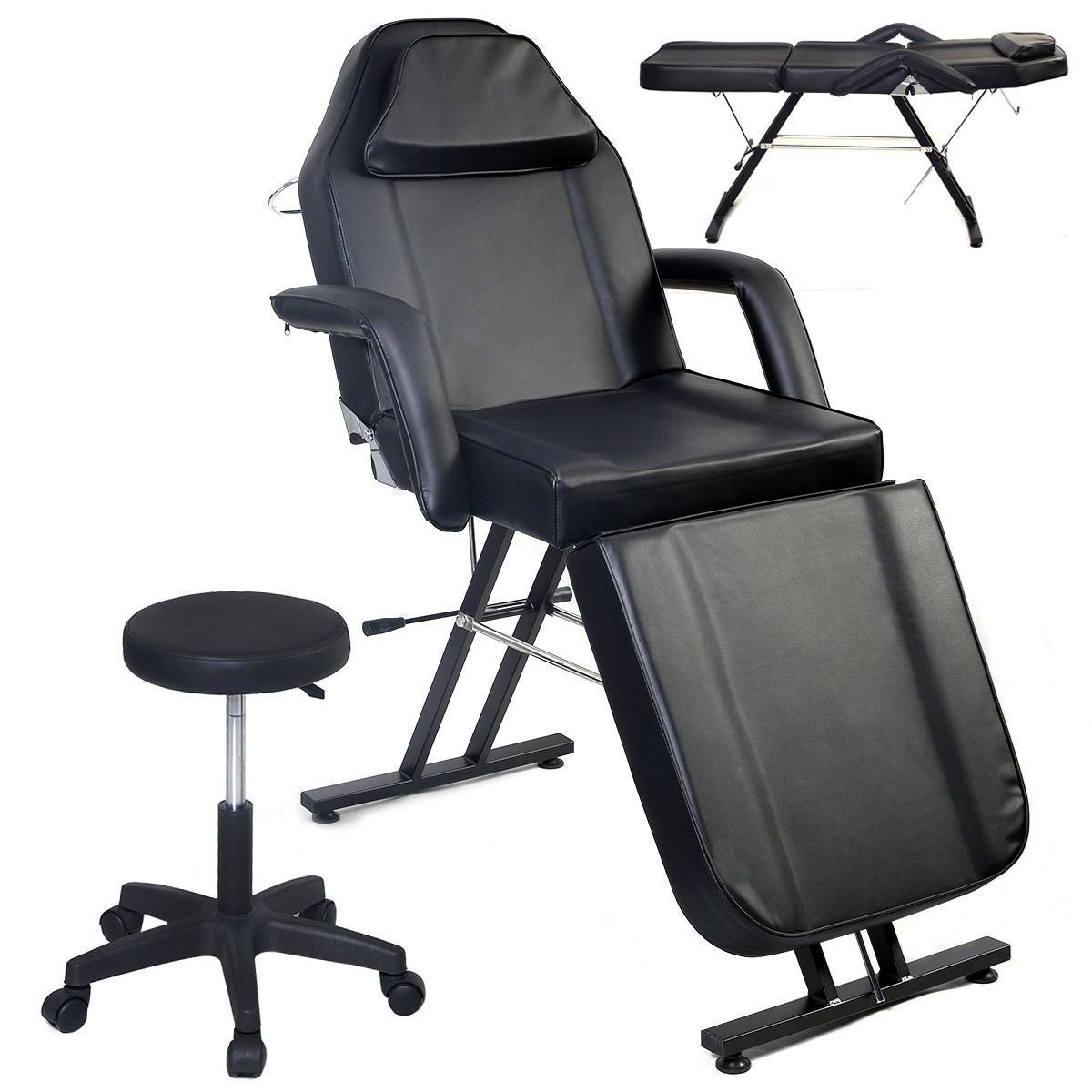 beauty salon chair stressless similar massage table facial bed adjustable barber black walmart com