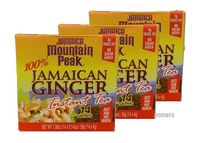 3 Pack Jamaica Mountain Peak Jamaican Ginger Instant Tea ...