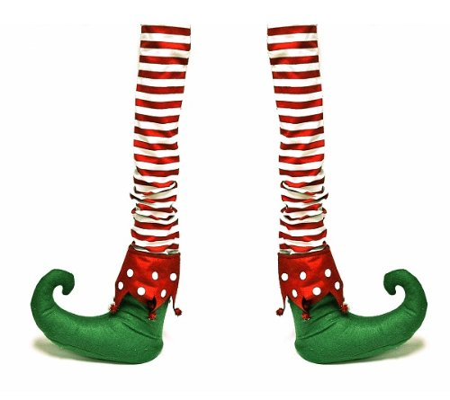 christmas elf chair covers queen anne set of 2 fabric table leg stocking 31 5 by one hundred 80 degrees walmart com