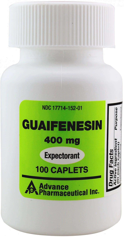 Guaifenesin 400 Mg ― Guaifenesina