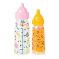 BABYDOLL Magic DOLL Bottles SET Of Two MILK & Juice girls ...