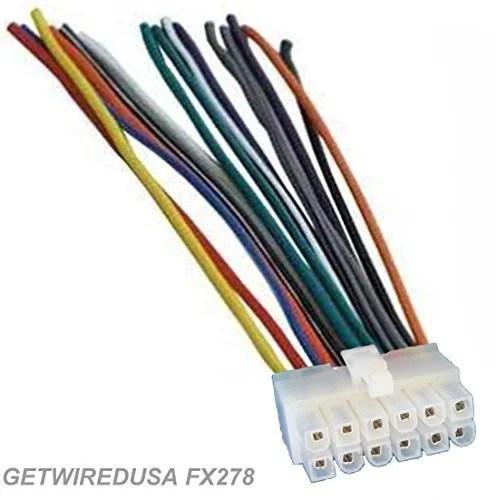 dual car audio 12pin stereo wire harness radio power plug mail back clip  for xd230m xr4115 xd1222 xd1225 xdm260 xd5250 xd1215 xd6150 xd1228 xr4110
