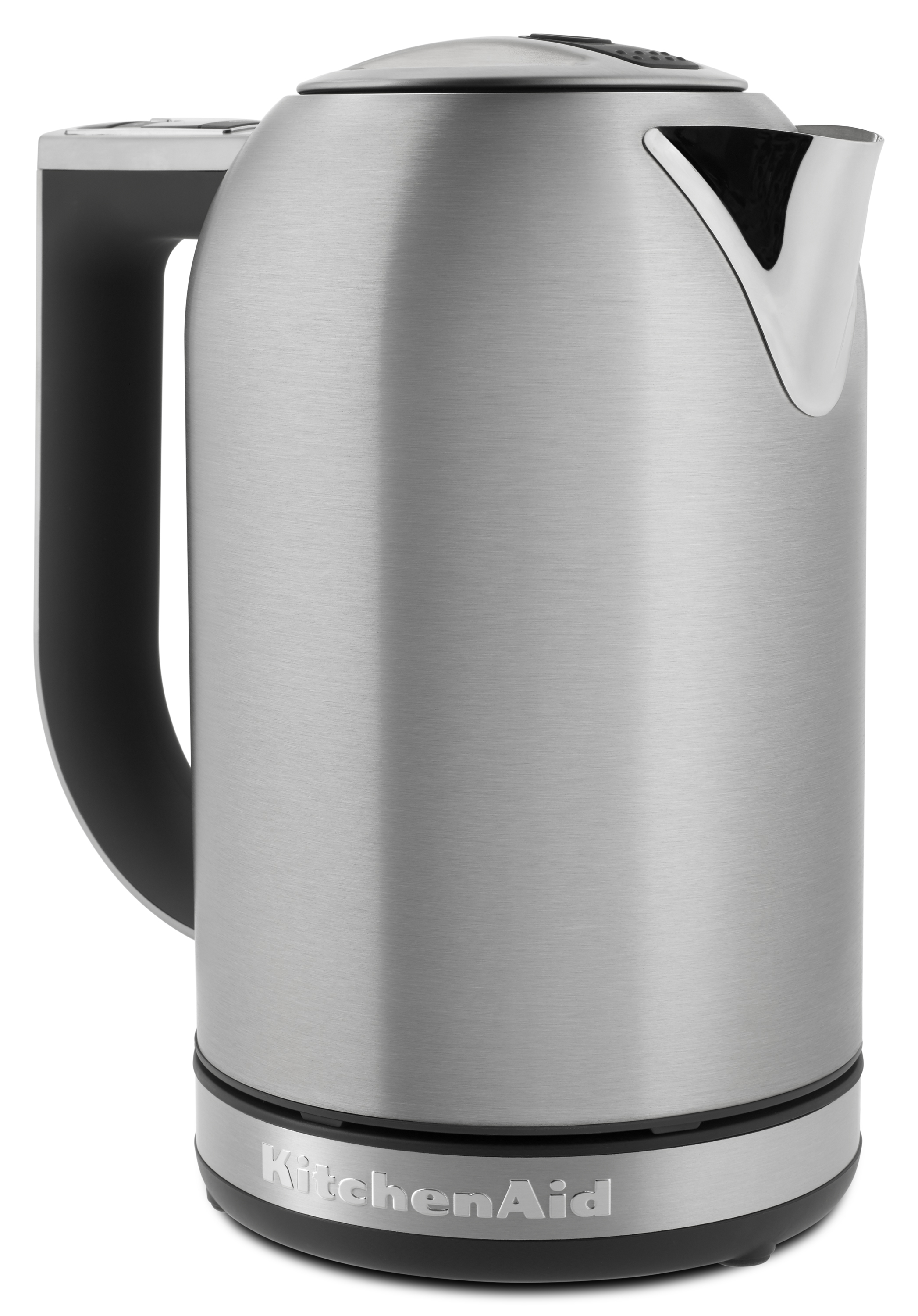 kitchen aid electric kettle metal island cart kitchenaid 1 7l with led display brushed stainless steel kek1722sx walmart com