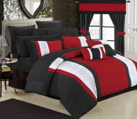 Chic Home 24-Piece Dylania Complete Bed In a Bag Comforter ...
