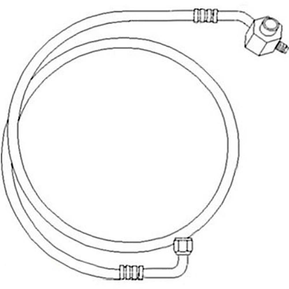 70262125 New Evaporator to Compressor Line For Allis