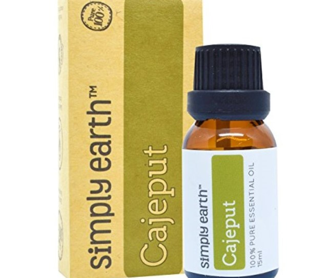 Simply Earth Cajeput Essential Oil  Pure Therapeutic Grade  Ml By