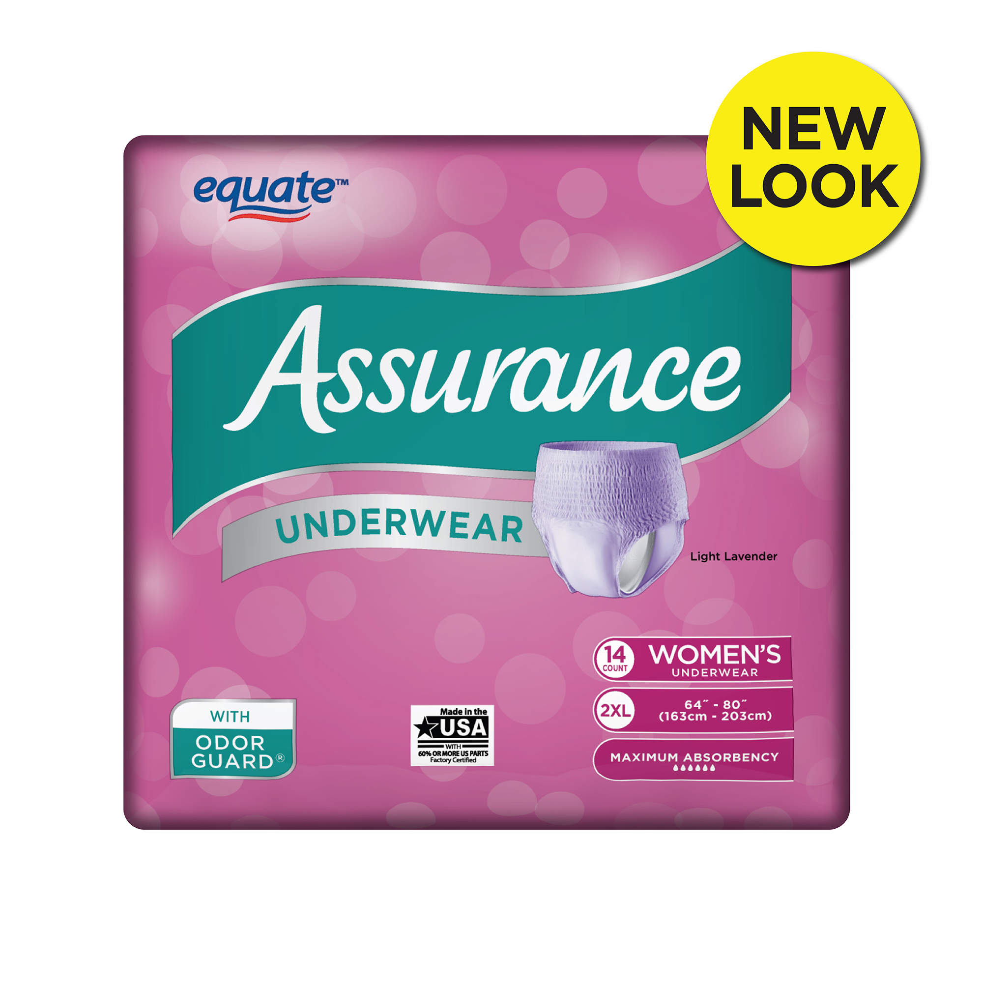 also assurance underwear women   size xl count walmart rh