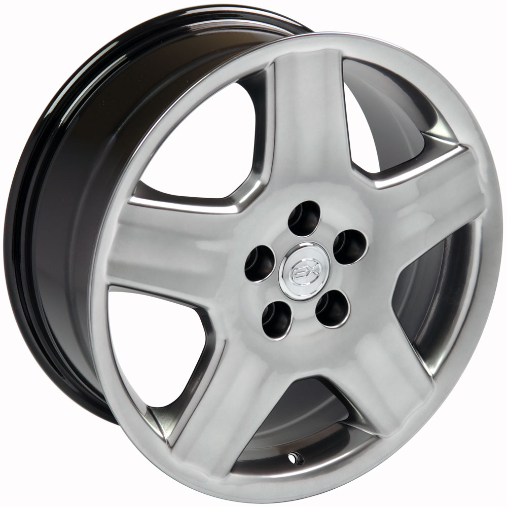 hight resolution of 18x7 5 wheel fits lexus toyota ls 430 style hyper black rim hollander 74179 walmart com