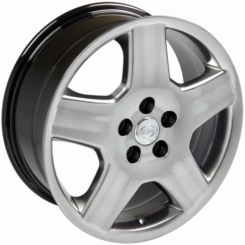 small resolution of 18x7 5 wheel fits lexus toyota ls 430 style hyper black rim hollander 74179 walmart com