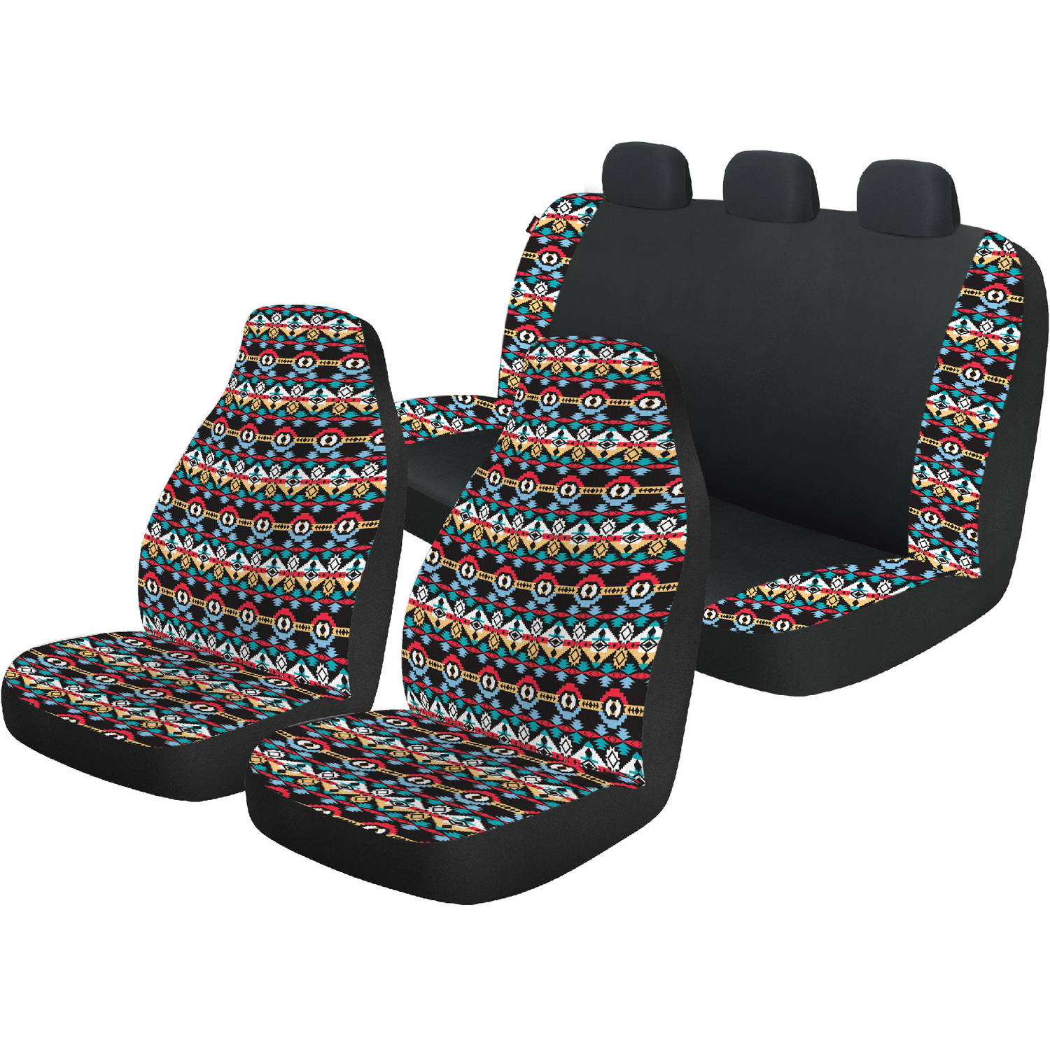 Auto Drive Bohemian Front And Rear Automotive Car Seat