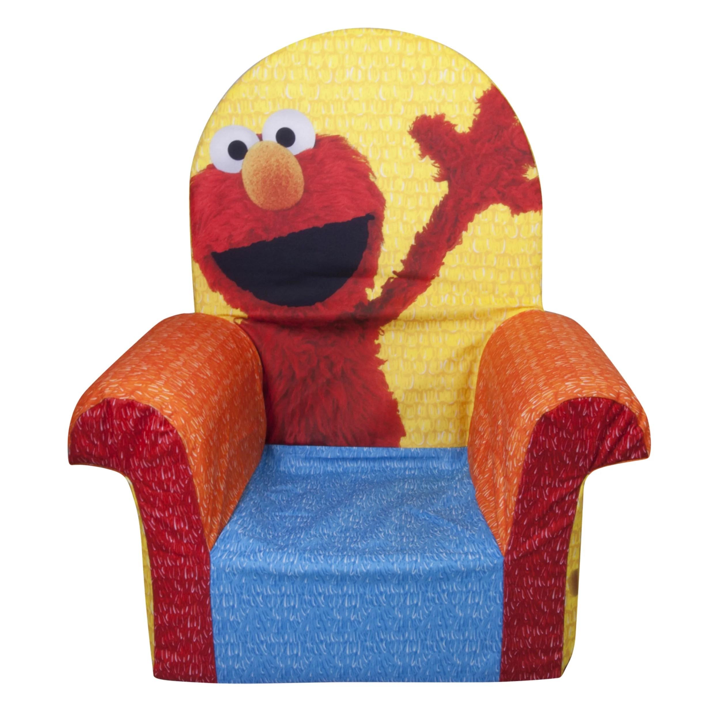 Marshmallow Furniture, Children's Foam High Back Chair