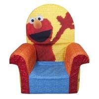 Marshmallow Furniture, Children's Foam High Back Chair ...