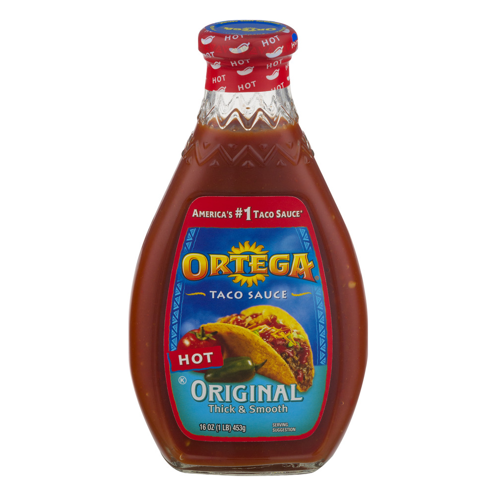 Ortega Taco Sauce Original Thick Smooth Mild 160 OZ