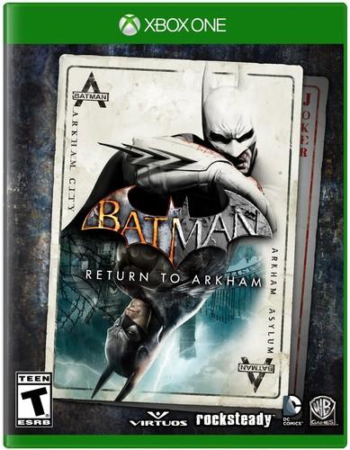 Batman Return To Arkham Xbox One Warner Bros
