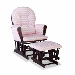 Polka Dot Rocking Chair Cushions Step 2 Desk And Storkcraft Hoop Glider Ottoman Espresso Finish Sage Walmart Com