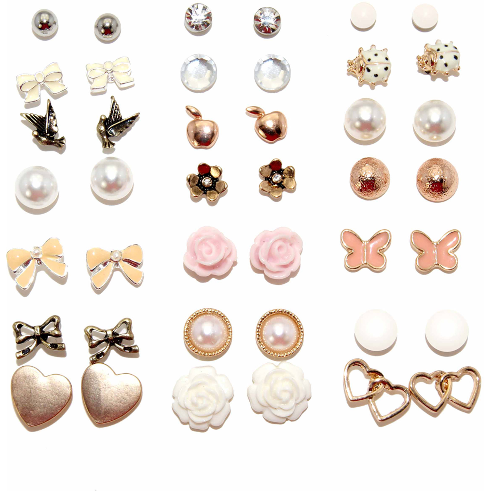Earring Studs Set