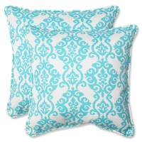 Pillow Perfect Outdoor/ Indoor Luminary Turquoise 18.5 ...