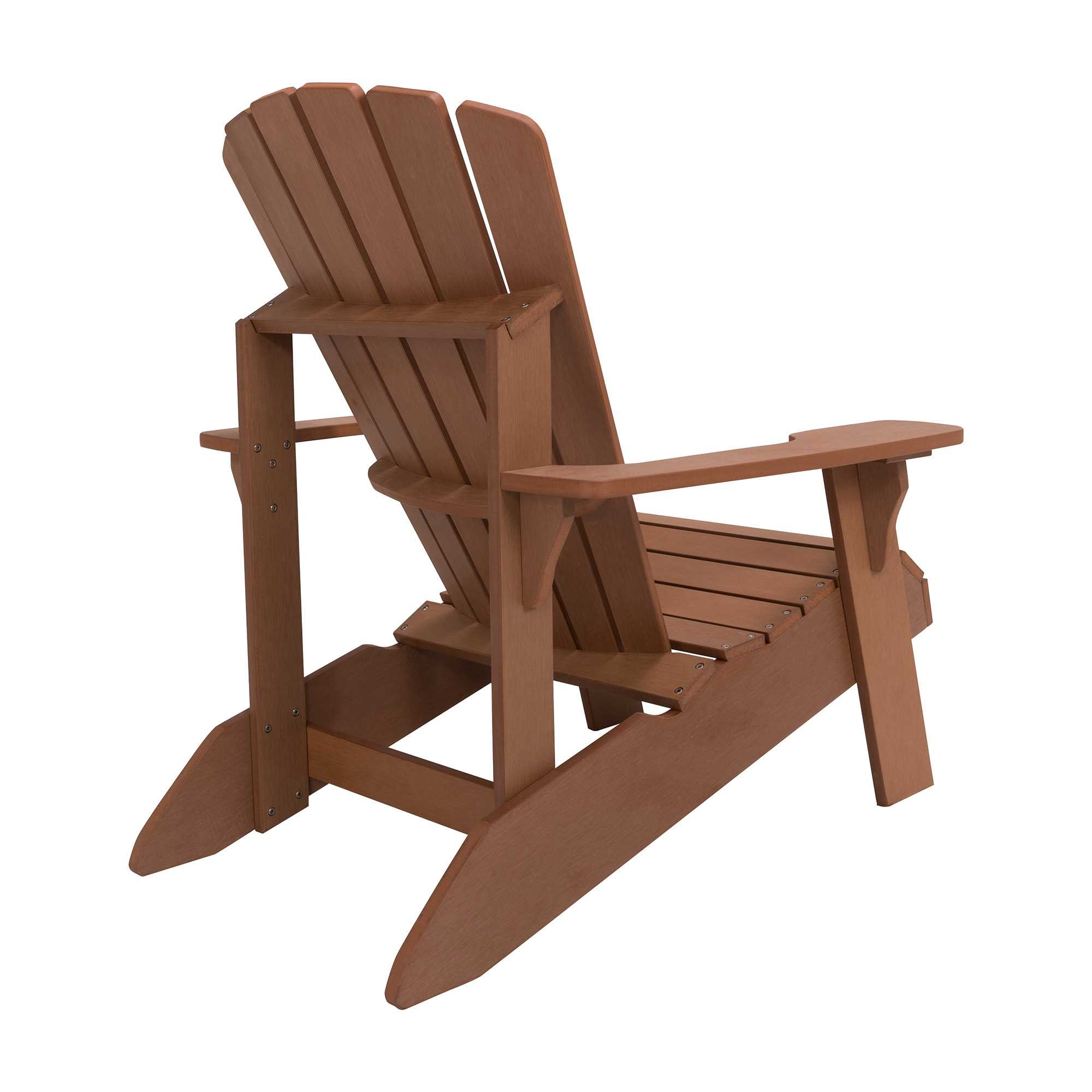 Lifetime Adirondack Chairs Lifetime Adirondack Wood Alternative Chair Brown 60064