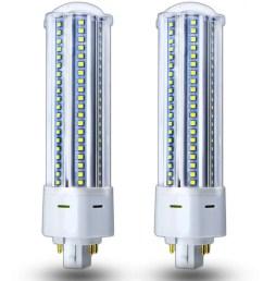 bonlux 22w led gx24q g24q 4 pin pl retrofit lamp 42w cfl equivalent gx24 led recessed light bulb 360 degree beam angle remove bypass the ballast  [ 1000 x 1000 Pixel ]