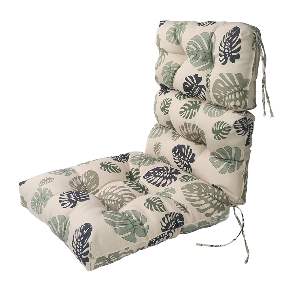 patio high back chair cushions target tables and chairs lnc indoor seat outdoor lounge cushion green leaf walmart com