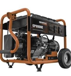 6954 8000 watt electric start portable generator 49 state csa walmart com [ 1200 x 1200 Pixel ]