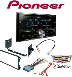 pioneer double din cd receiver with enhanced audio functions mixtrax built in bluetooth and siriusxm ready gmc 2003 2006 yukon car radio stereo cd  [ 1000 x 1000 Pixel ]