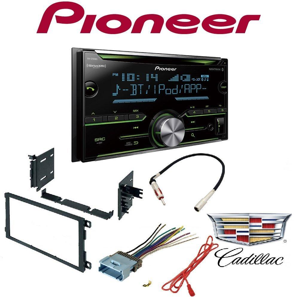 medium resolution of pioneer double din cd receiver with enhanced audio functions mixtrax built in bluetooth and siriusxm ready gmc 2003 2006 yukon car radio stereo cd