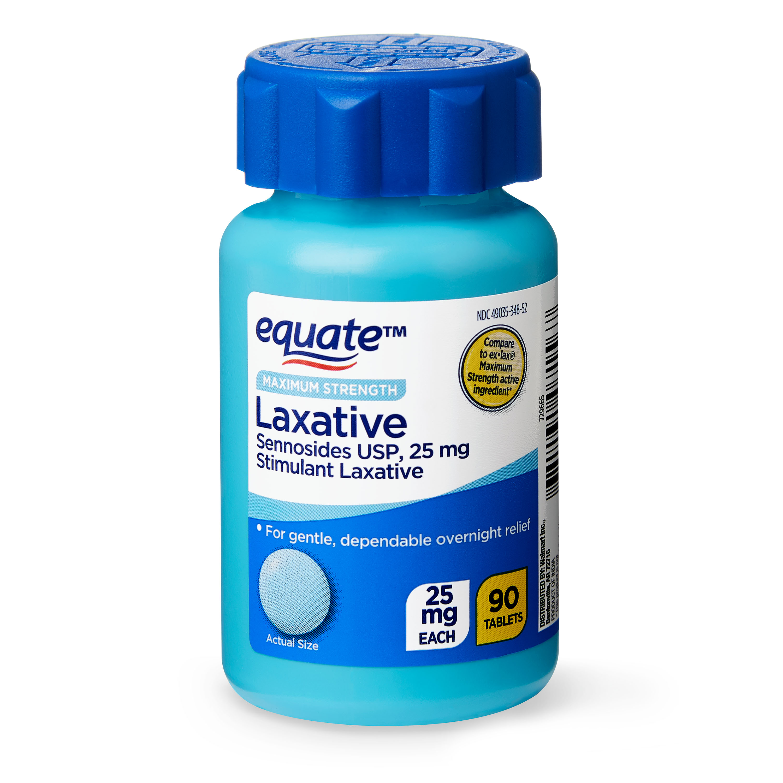 (3 Pack) Equate Maximum Strength Sennosides USP Laxative ...
