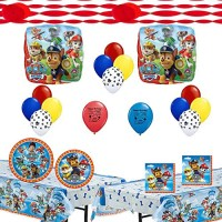 Paw Patrol Deluxe Party Supply Bundle and Room Decorating