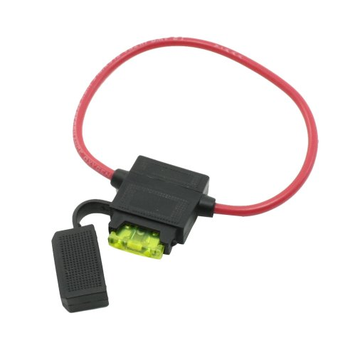 small resolution of unique bargains bh708 inline 12 awg blade fuse holder block 2 pin fuse 12v 10a for car boat walmart com