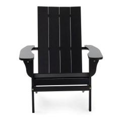 Modern Adirondack Chair Childrens Bean Bag Belham Living Portside Black Walmart Com