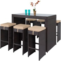 choice products 7-piece outdoor